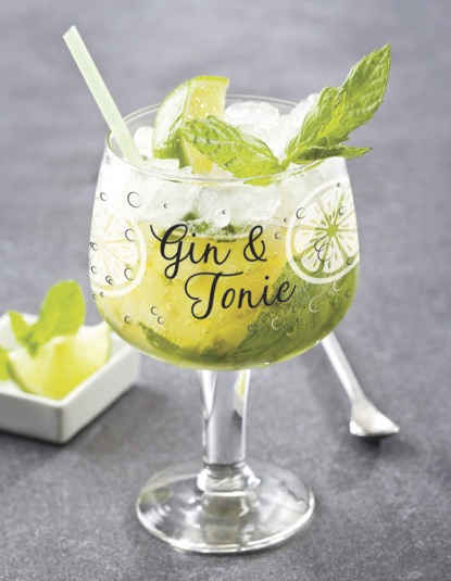 Script Gin & Tonic Coppa Glass