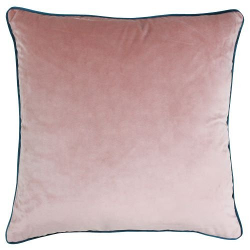 Riva Paoletti Meridian Blush and Teal Cushion Cover