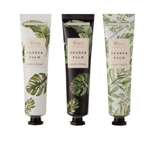 Royal Horticultural Society Tender Palm Hand Cream Trio