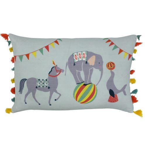 Riva Paoletti Vintage Circus Cushion Cover