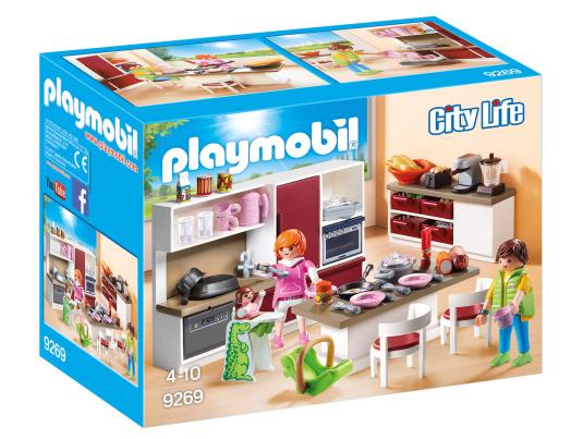 Playmobil City Life Kitchen Set