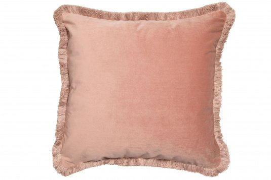 Meghan Velvet Blush Cushion