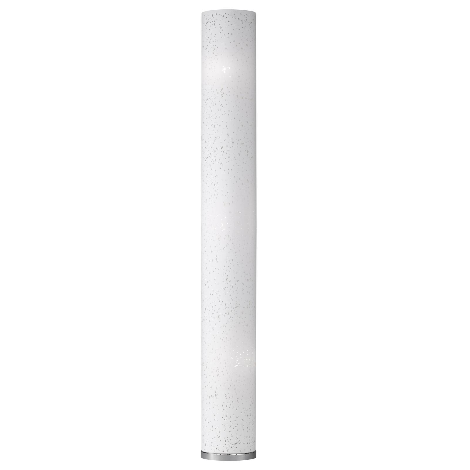 Picture of: Starlight Large White Column Floor Lamp