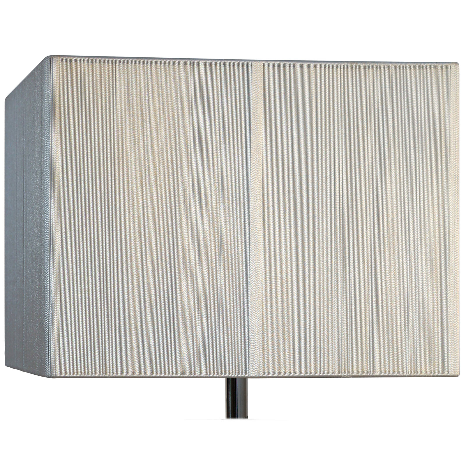 Picture of: Silk String 14 Inch Cream Rectangular Lamp Shade
