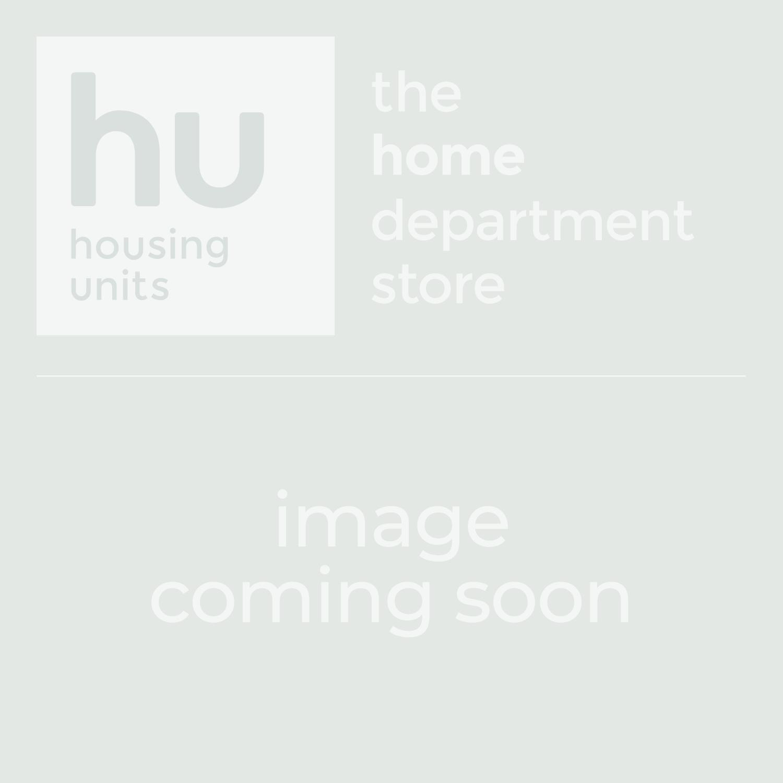 Strego Round 110cm Glass Dining Table 4 Vigo White Chairs