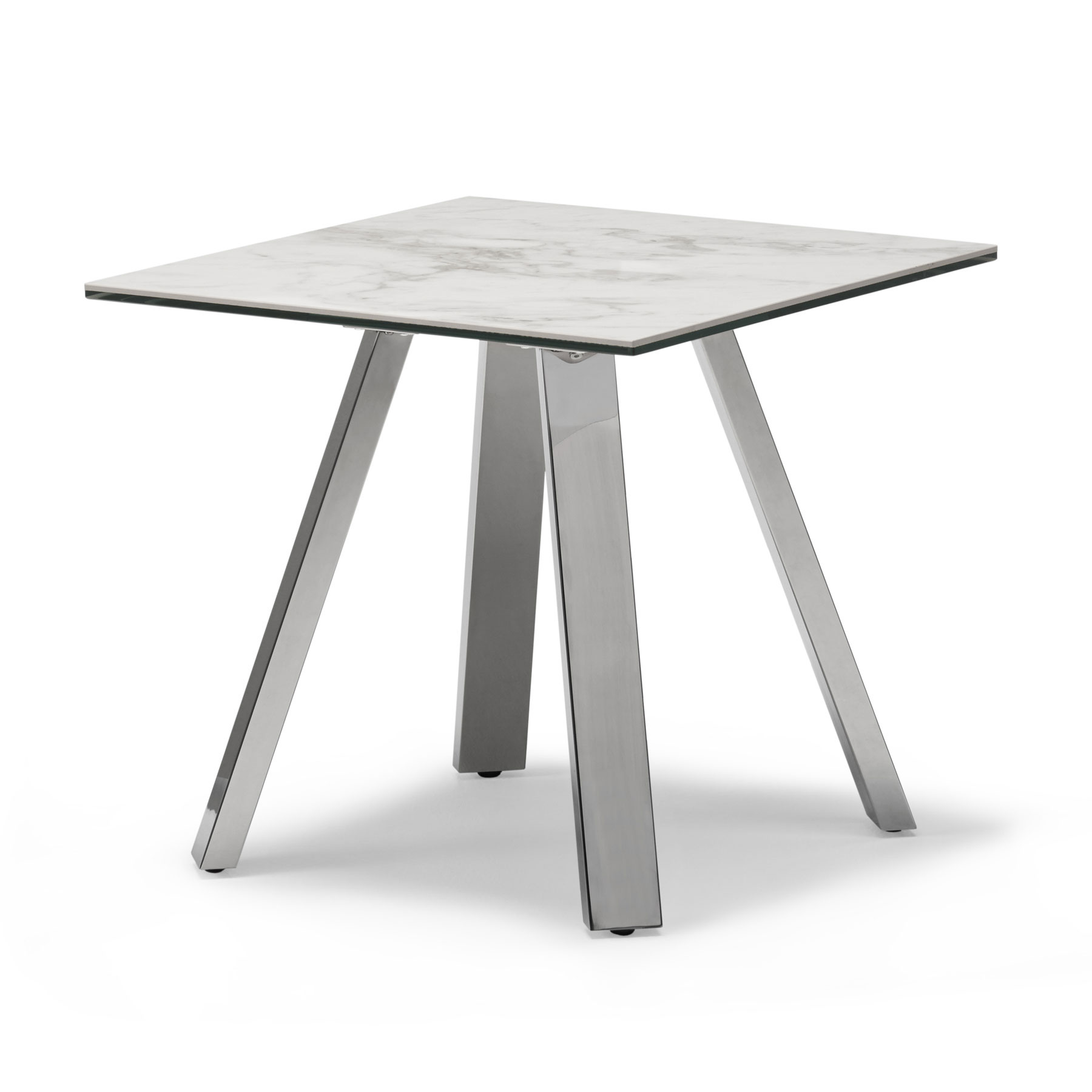 Ravenna Ceramic Marble Effect Side Table