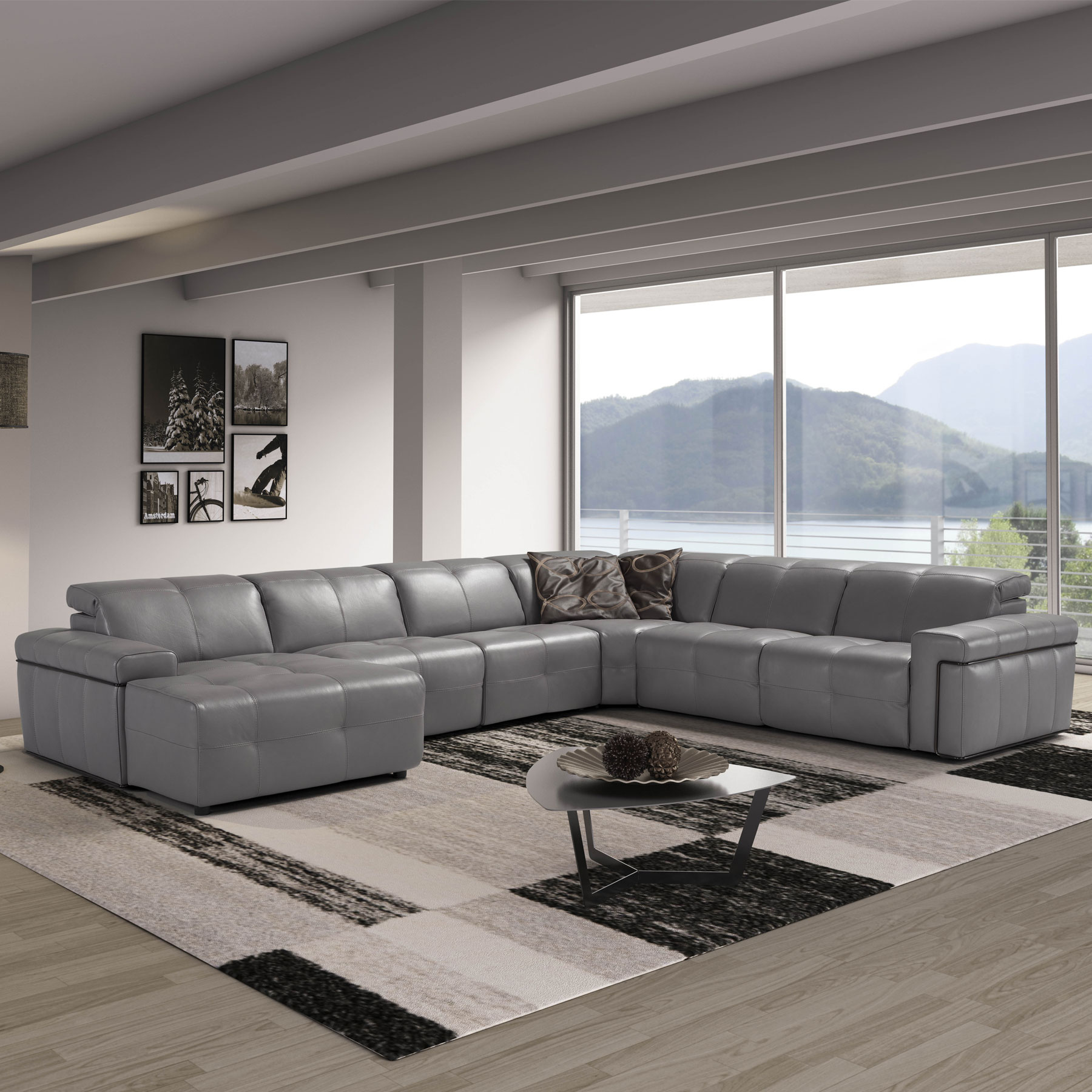 Picture of: Parma Recliner Corner Group Sofa Collection