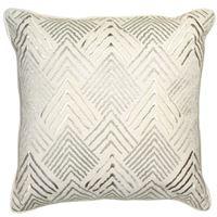 Malini Bette Gold Geometric Cushion