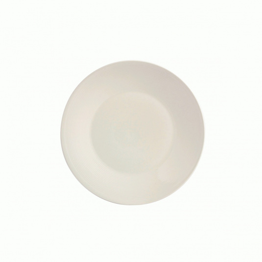 Fairmont and Main White Linen Dessert Plate