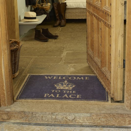 Turtle Mat Welcome To The Palace Design Mat