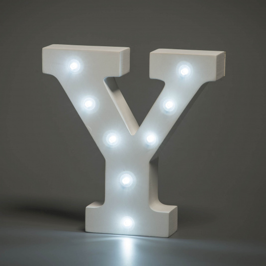 Light Up Letter - Y