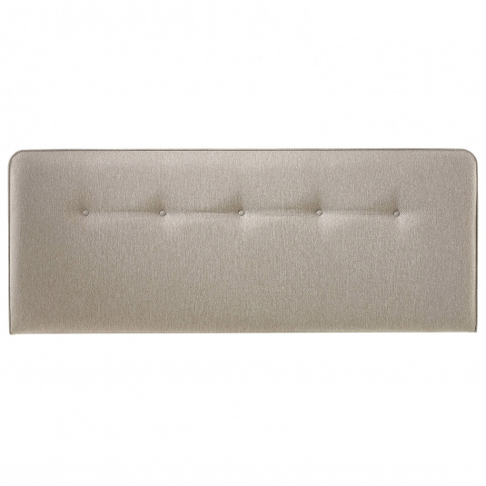 Myers Buttons Taupe Single Headboard