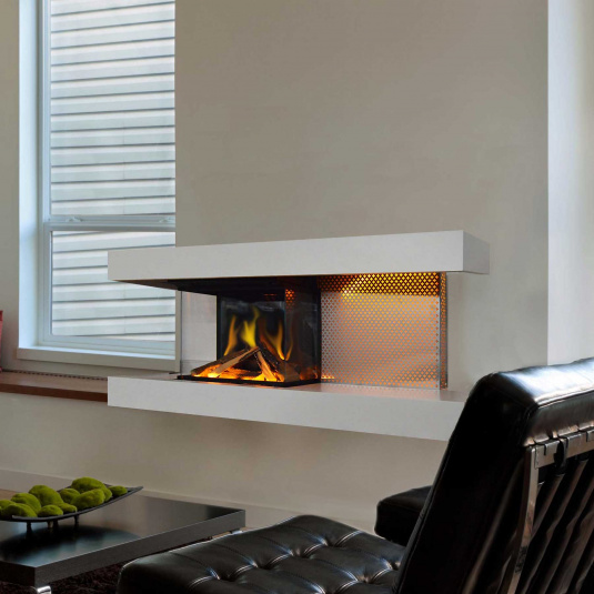 Evonic Fires Helios Electric Fireplace Suite