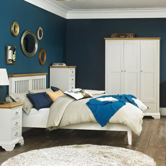 Henley Soft Grey and Oak Bedroom Collection