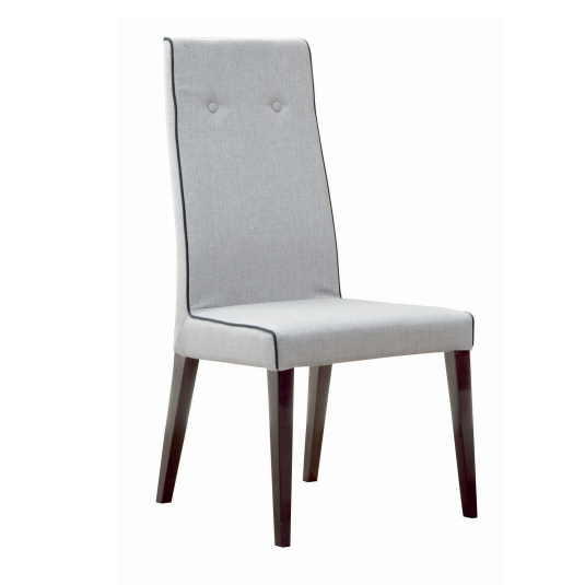 Monza Grey Fabric Dining Chair