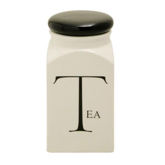 Fairmont and Main Script Tea Store Jar