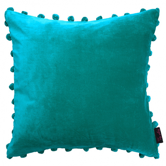 Arabella Teal Cushion by Ragged Rose
