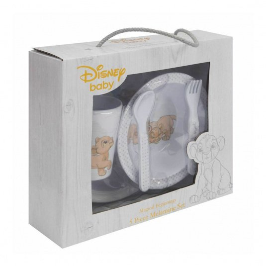 Disney Simba 5 Piece Crockery Set