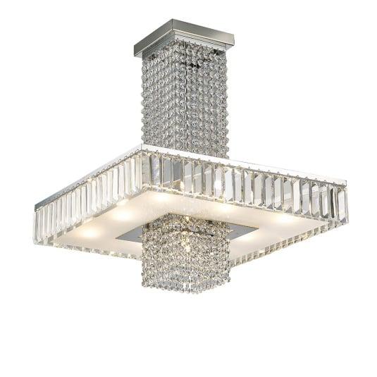 Ophelia 9 Light Semi Flush Ceiling Light
