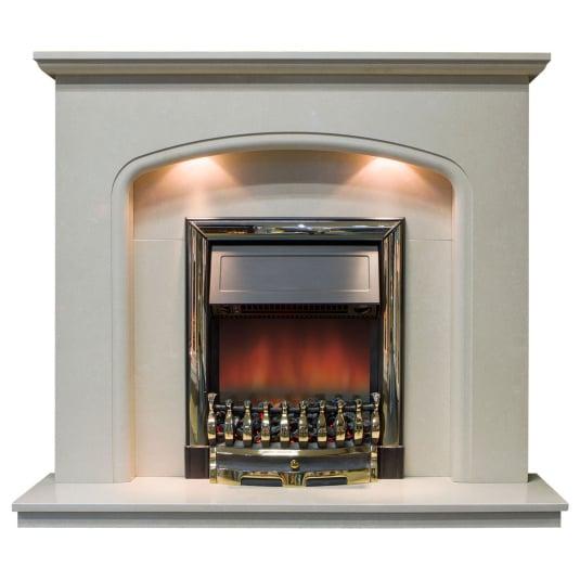 Titan Italian Marble Fireplace