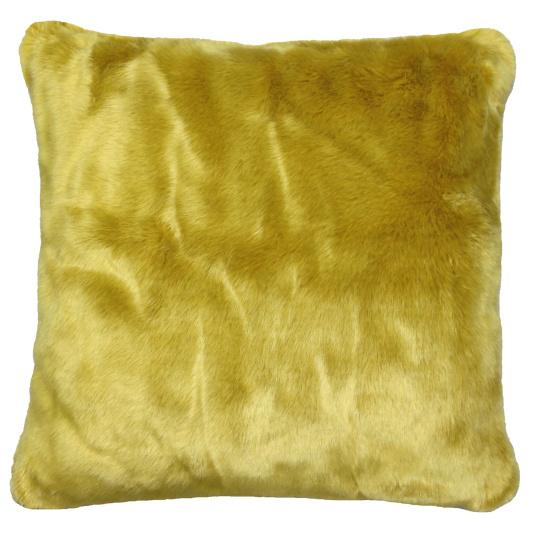 Riva Paoletti Russ Ochre Square Cushion