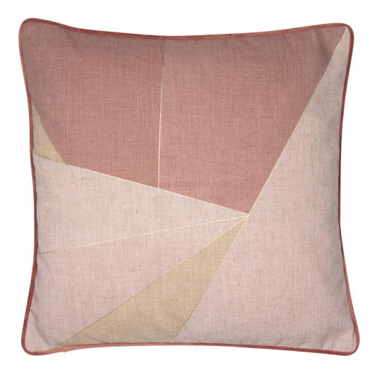 Malini Shatter Pink Cushion