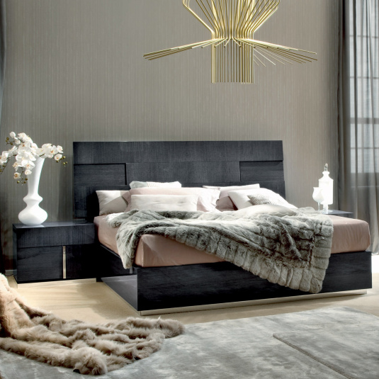 Monza Bed Frame with Spring Slat System Collection