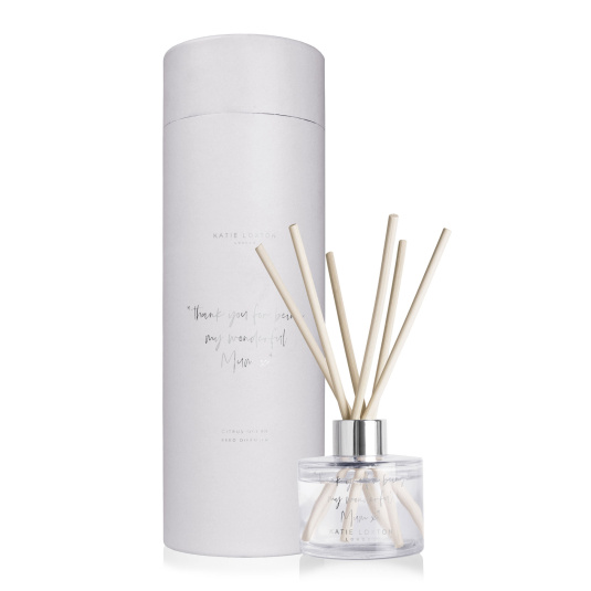 Katie Loxton Thank You Mum Citrus Ocean Reed Diffuser