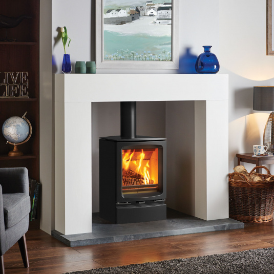 Stovax Vogue Midi Wood Burning Stove without Plinth