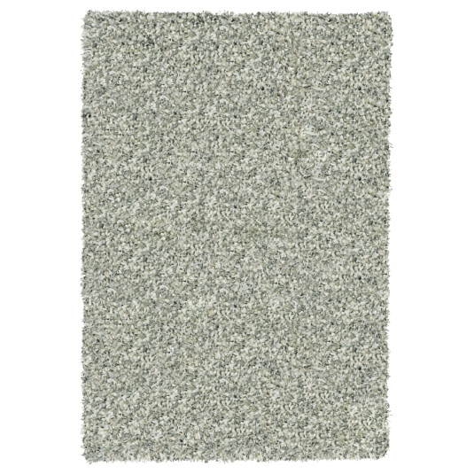 Twilight Silver and White Shaggy Rug Collection