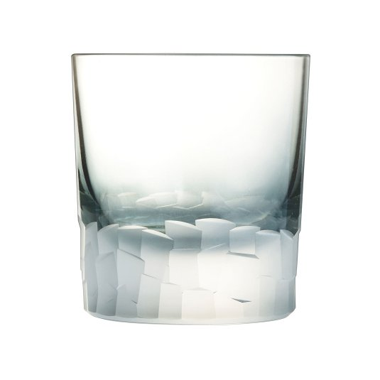 Intuition Colours Set of 6 Grey Double Old Fashioned Glasses