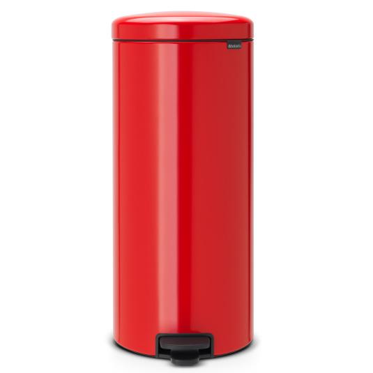 Brabantia 30 Litre NewIcon Passion Red Pedal Bin