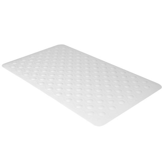 Solo White Anti Slip Bath Mat