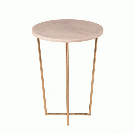Anika Marble Side Table
