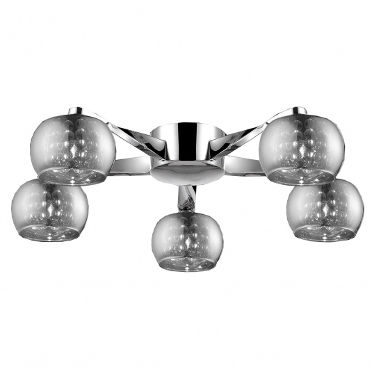 Deni 5 Light Semi Flush Ceiling Light