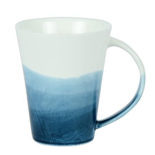 Triple Dip Blue Mug