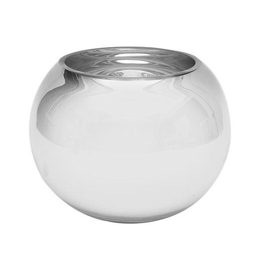 SD Glass Silver Fishbowl