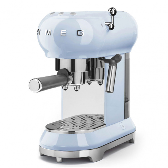 Smeg 50's Retro Style Pastel Blue Espresso Machine
