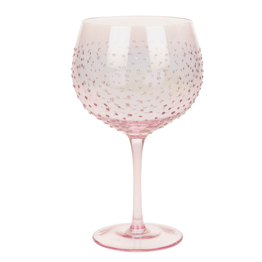 Pink Lustre Gin Copa Glass