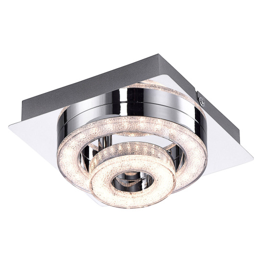 Tim Lola Colour Change LED Flush Ceiling Light