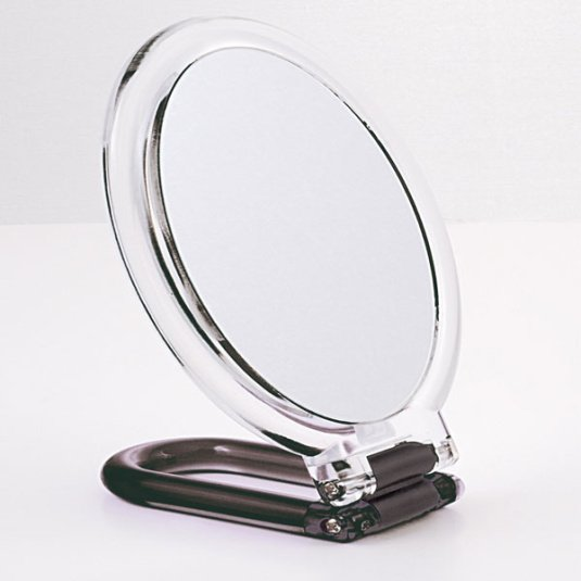 Oval Hand and Standing Mirror