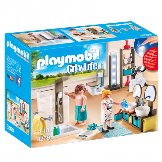 Playmobil City Life Bathroom Set