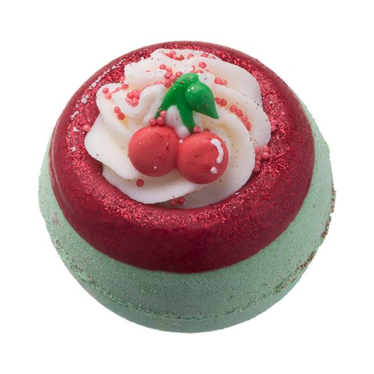 Bomb Cosmetics Cherry on Top Bath Blaster