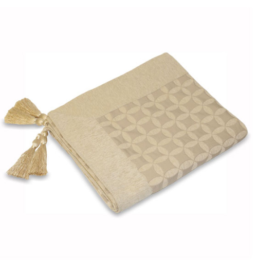 Riva Paoletti Palma Natural Throw