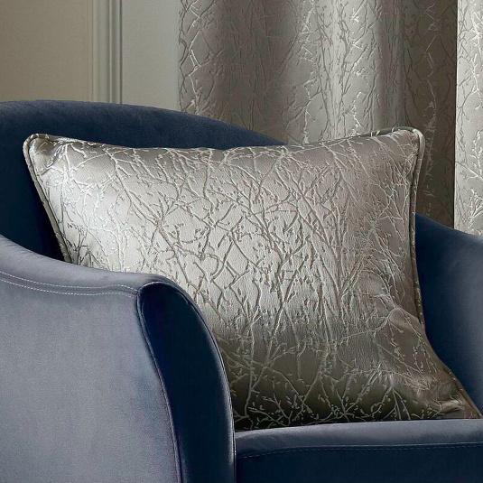 Elstree Smoke Feather Filled Cushion