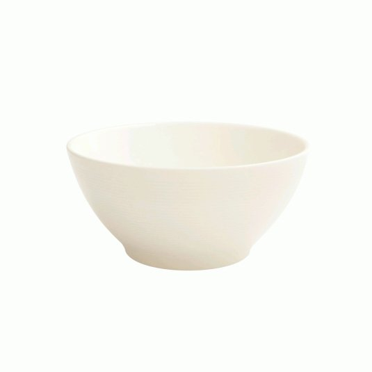 Fairmont and Main White Linen Cereal Bowl