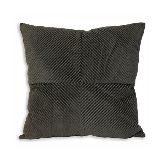 Riva Paoletti Charcoal Infinity Cushion