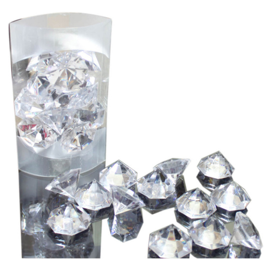 Clear Acrylic Diamond Decorative Stones