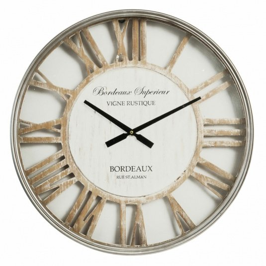 Shabby Chic Dial Wall Clock