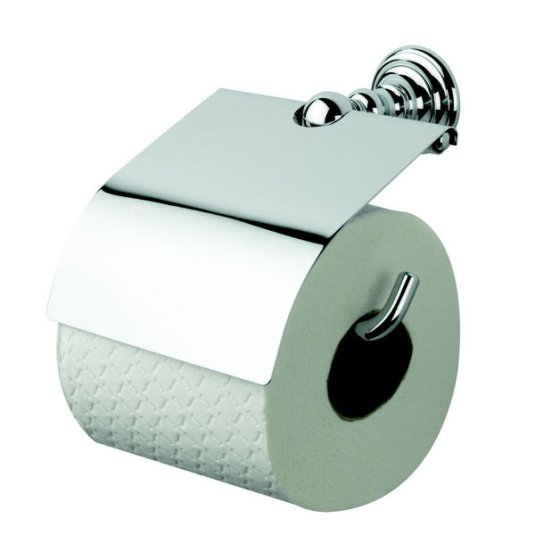 Imperial Richmond Covered Chrome Toilet Roll Holder